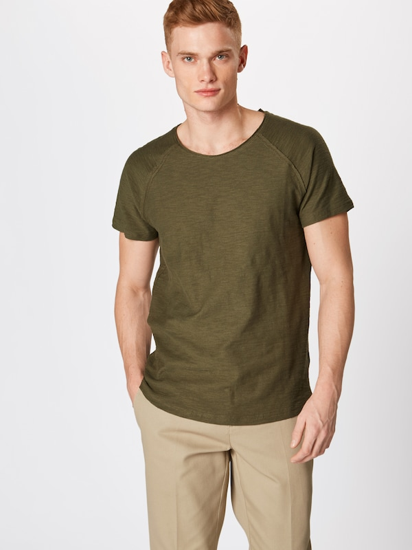 Review T shirt En Structure' Olive 'raglan xBWderCo