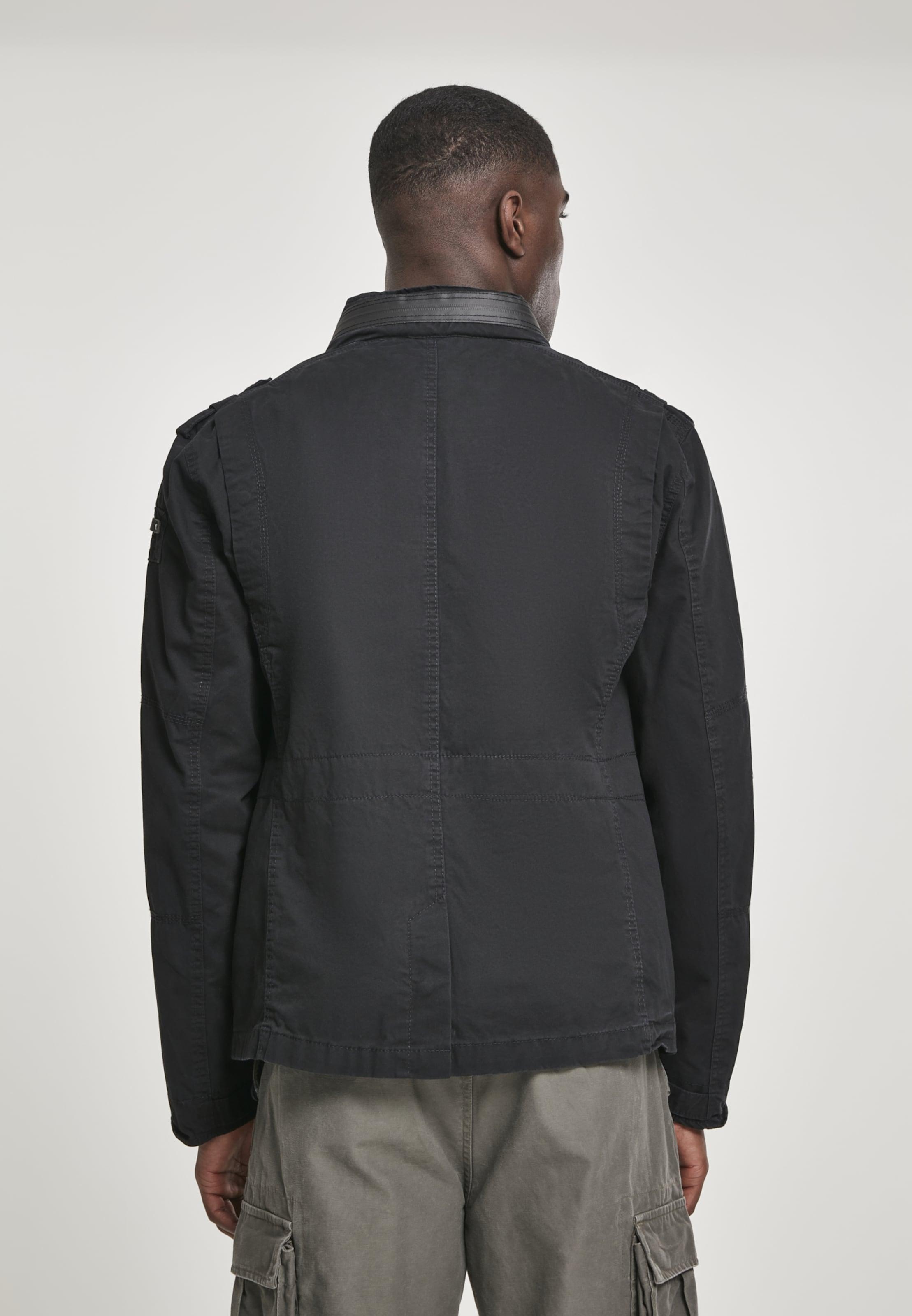 Jacket Jacket Brandit Schwarz 'britannia' Brandit In Schwarz Brandit 'britannia' In OZiukTPX