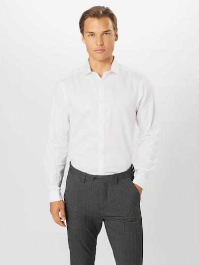 BURTON MENSWEAR LONDON Košile 'Diamond' - bílá: Pohled zepředu