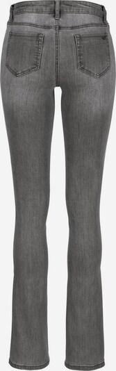 ARIZONA Bootcut-Jeans in grau, Produktansicht