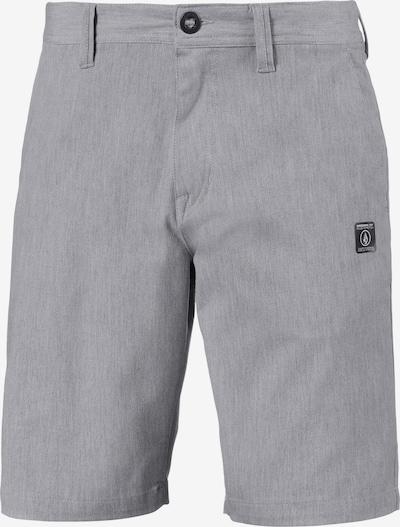 Volcom Shorts in silbergrau, Produktansicht
