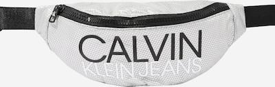 Calvin Klein Jeans Gürteltasche 'INSTITUTIONAL LOGO WAIST PACK' in silber, Produktansicht
