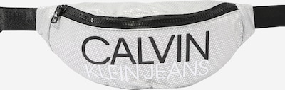 Calvin Klein Jeans Tas 'INSTITUTIONAL LOGO WAIST PACK' in de kleur Zilver, Productweergave