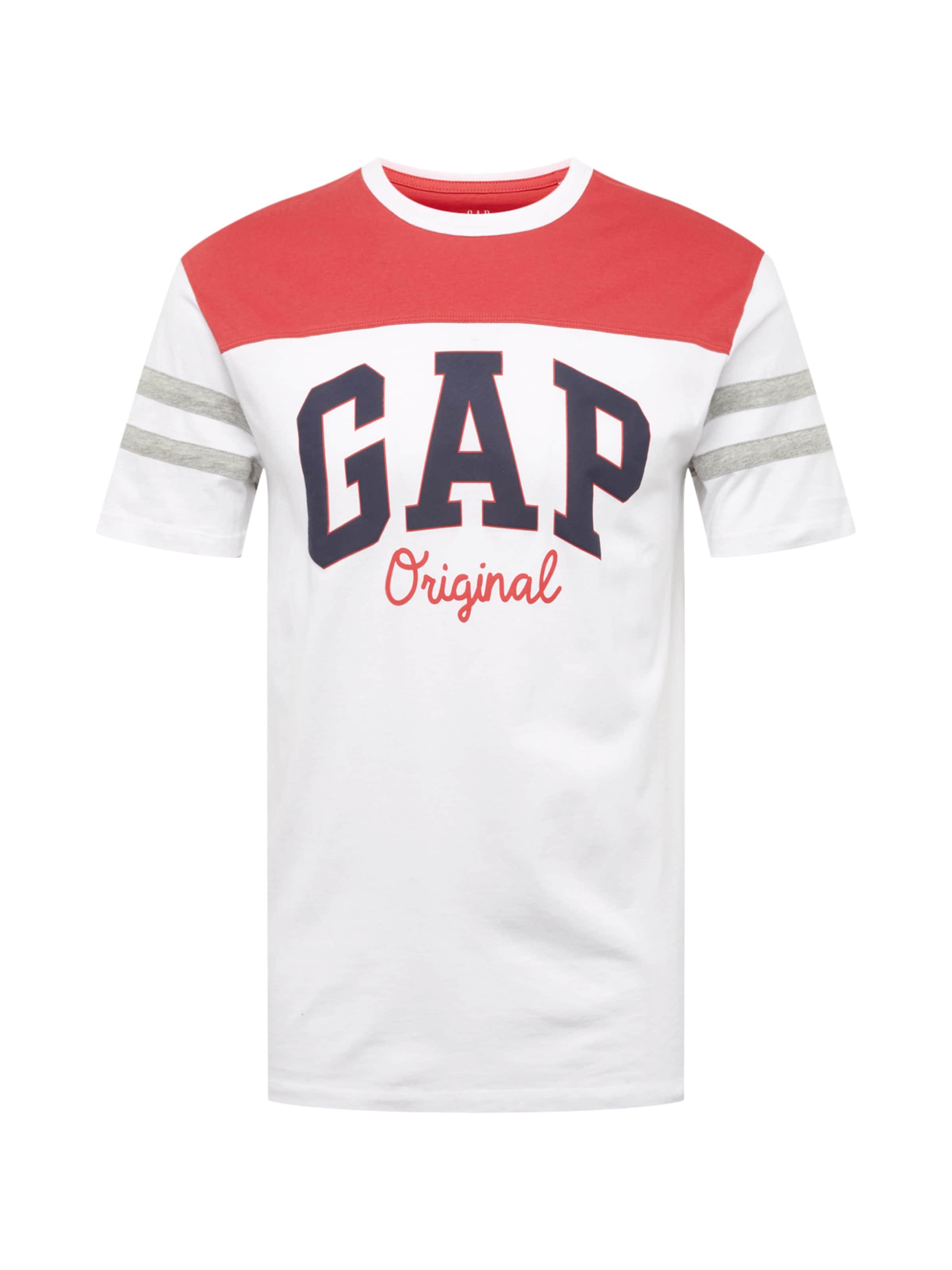 Gap En T RougeBlanc T' Xls Fb 'fr Logo shirt w8nN0vm