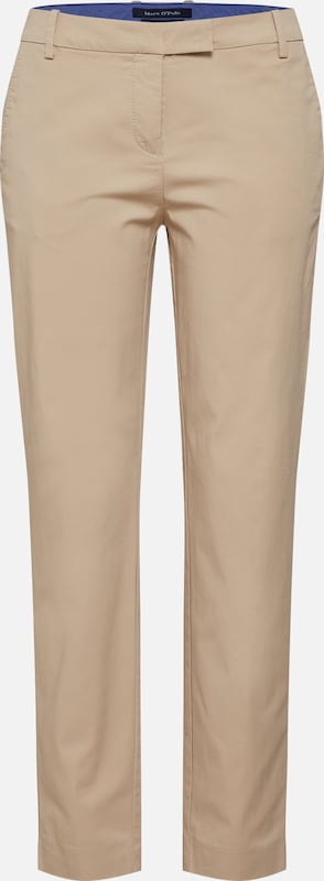 Marc O'Polo Hosen 'Torne Tailored' in hellbeige, Produktansicht