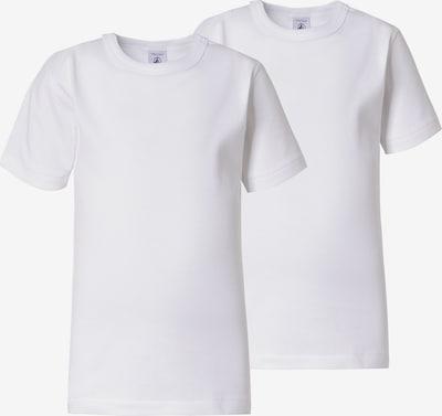 PETIT BATEAU Unterhemden , Doppelpack in weiß, Produktansicht