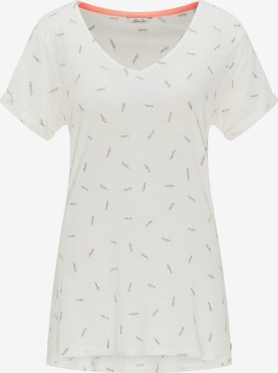 Marškinėliai iš Petrol Industries , spalva - smėlio / sidabrinė / balta, Prekių apžvalga
