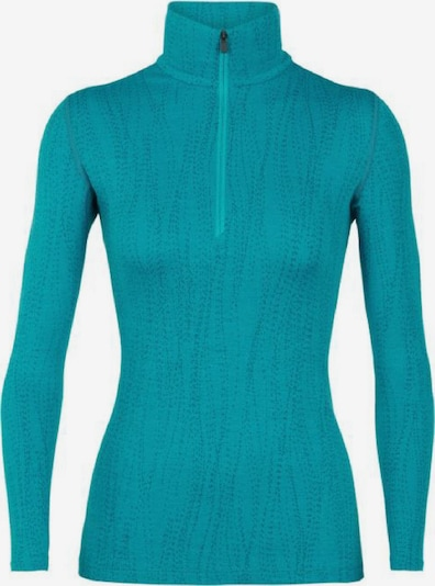 Icebreaker Shirt '250 Vertex LS Drift' in aqua, Produktansicht
