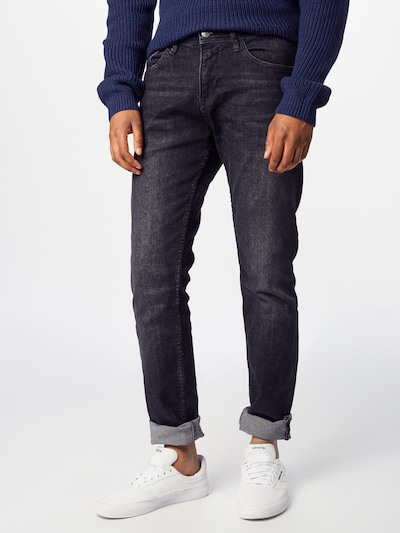 TOM TAILOR DENIM Jeans 'PIERS' in de kleur Black denim, Modelweergave