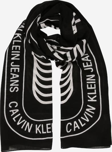 Calvin Klein Jeans Tuch in schwarz / weiß, Produktansicht