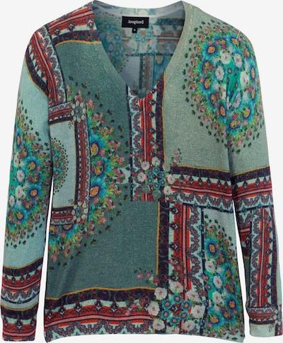 Desigual Pullover 'Dundee' in grün / mischfarben, Produktansicht