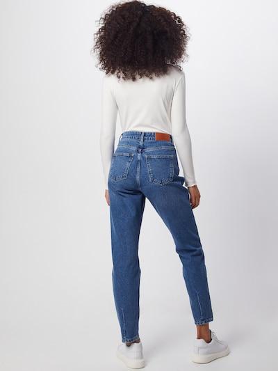 Noisy may Jeans 'Isabel' in blue denim: Rückansicht
