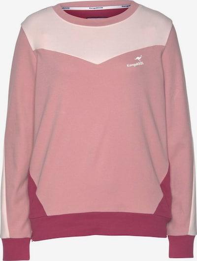 KangaROOS Sweater in altrosa / hellpink / bordeaux, Produktansicht