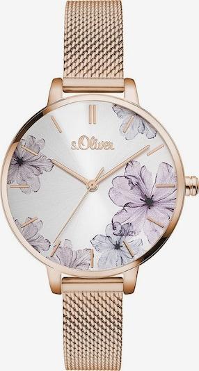 s.Oliver Quarzuhr 'SO-3524-MQ' in rosegold, Produktansicht