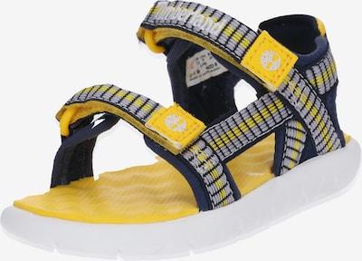 TIMBERLAND Schuhe 'Perkins Row Webbing Sndl' in navy / gelb, Produktansicht