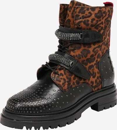 MJUS Boots in braun / schwarz, Produktansicht