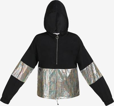 myMo ATHLSR Sportjas in de kleur Zwart / Zilver, Productweergave