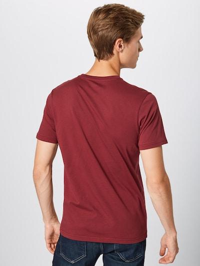 ALPHA INDUSTRIES Shirt in de kleur Pastelrood: Achteraanzicht