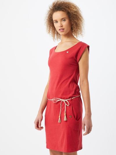 Ragwear Kleid 'TAG' in rot, Modelansicht
