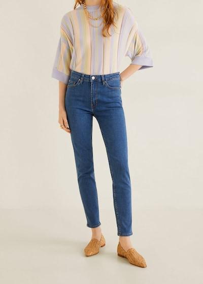 MANGO Jeans 'noa' in blue denim: Frontalansicht