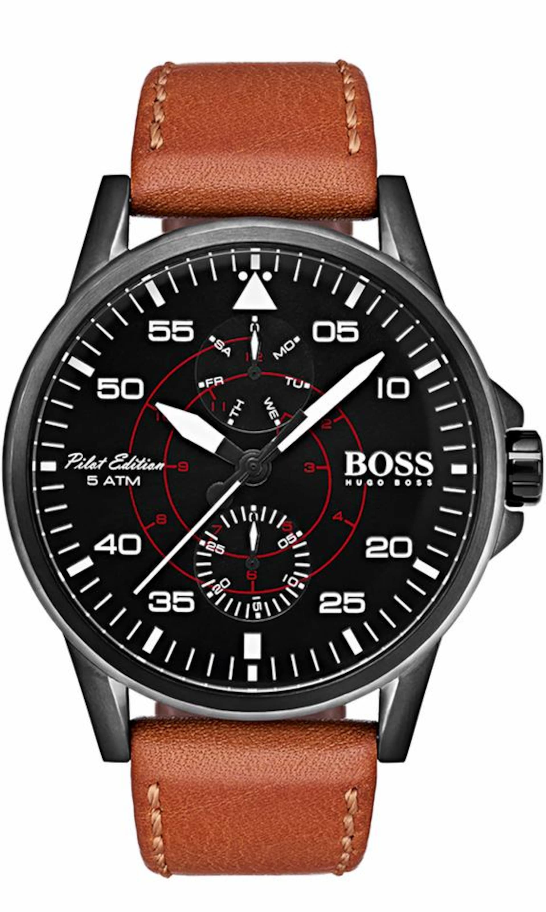 BOSS Boss Multifunktionsuhr »AVIATOR, 1513517«