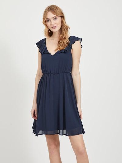 VILA Kleid in navy, Modelansicht