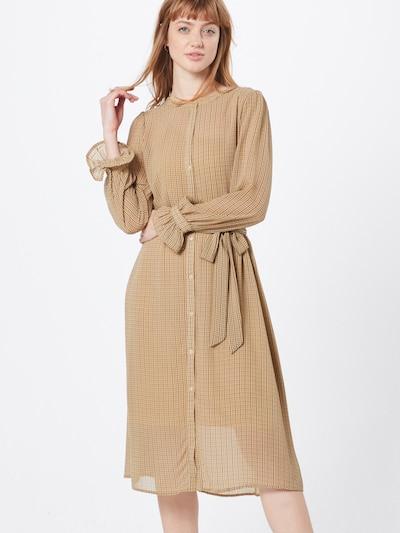 ICHI Kleid 'IXHOLGA' in beige, Modelansicht