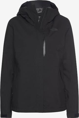 THE NORTH FACE Outdoor Jacket 'Dryzzle' in Black