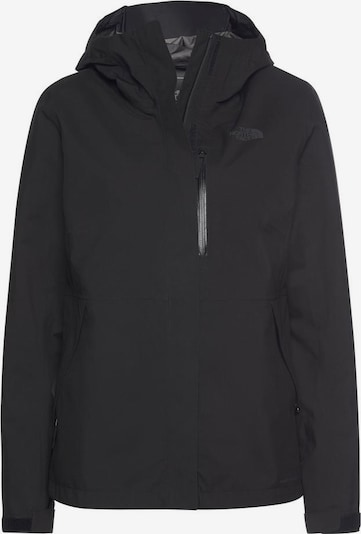 THE NORTH FACE Veste outdoor 'Dryzzle' en noir, Vue avec produit