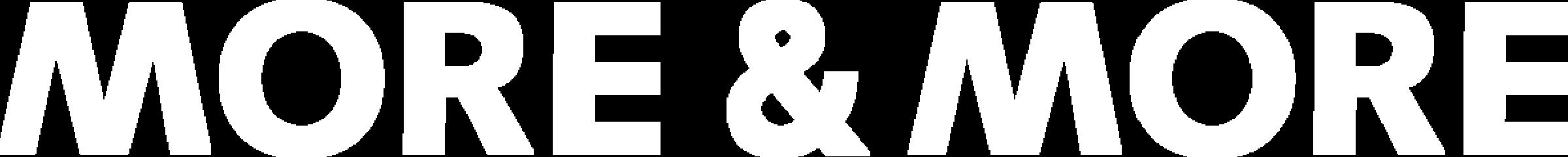 MORE & MORE Logo