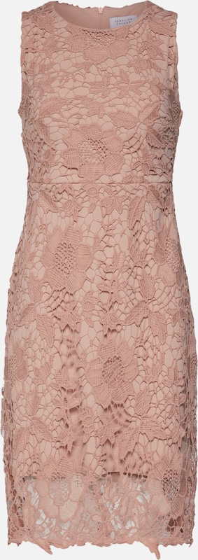 Carolina Cavour Kleider 'Lace Dress without sleeves' in rosé, Produktansicht