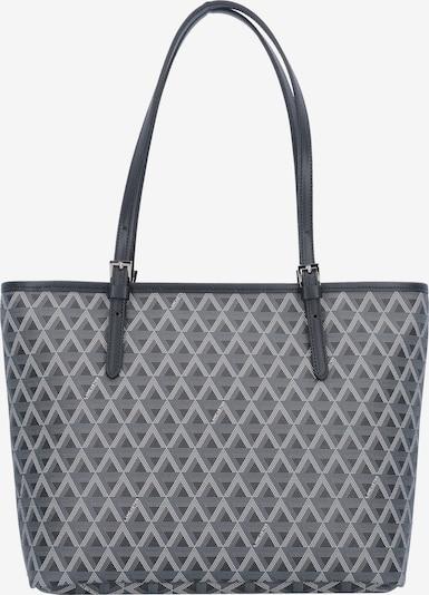 LANCASTER Shopper in grau / weiß, Produktansicht