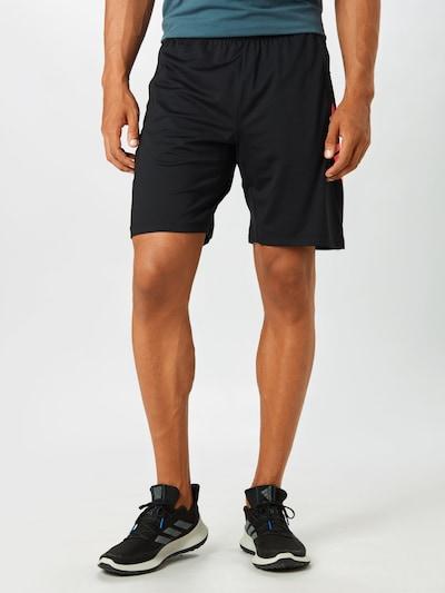 ADIDAS PERFORMANCE Spordipüksid helepunane / must, Modellivaade