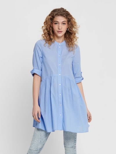 ONLY Blousejurk in de kleur Lichtblauw, Modelweergave