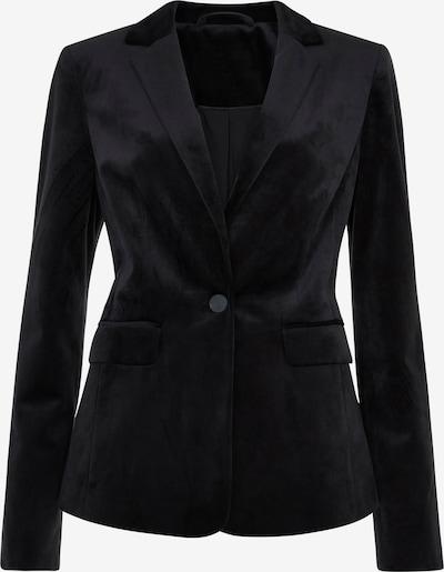 Long Tall Sally Blazer aus Samt für große Frauen in schwarz, Produktansicht