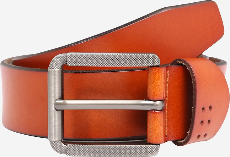 Only & Sons Riem 'CARTER' in de kleur Cognac, Productweergave