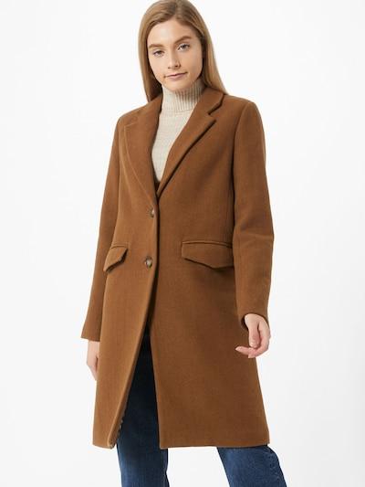 Rudeninis-žieminis paltas 'Shugga' iš mbym , spalva - ruda, Modelio vaizdas