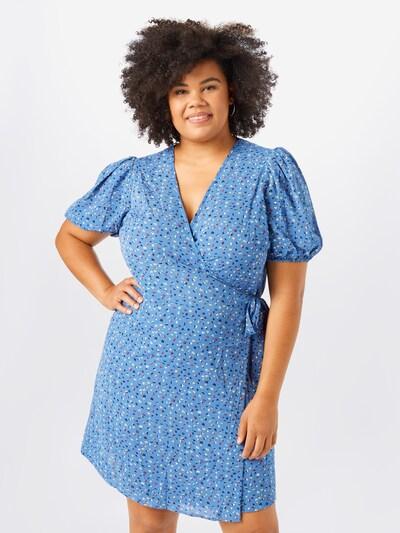Junarose Kleid 'Binta' in hellblau / mischfarben, Modelansicht