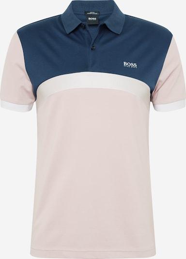 Tricou 'Paule 3' BOSS ATHLEISURE pe albastru / roz: Privire frontală