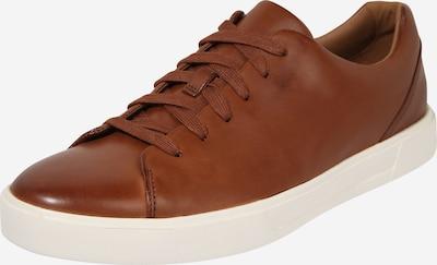 CLARKS Sneaker 'Un Costa Lace' in braun / weiß, Produktansicht
