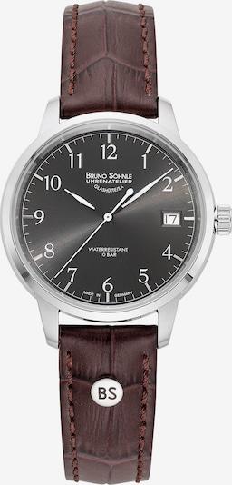 Bruno Söhnle Uhr 'Hamburg Small I 17-13202-821' in kastanienbraun / schwarz / silber, Produktansicht