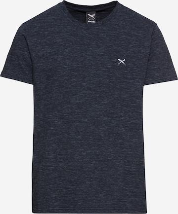 Iriedaily T-Shirt 'Chamisso' in Blau