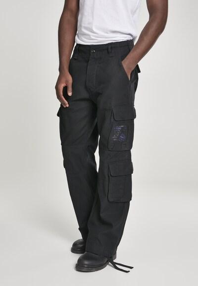 Brandit Hose 'Pure Vintage Trouser ' in anthrazit, Modelansicht