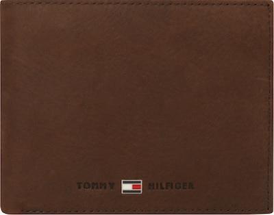TOMMY HILFIGER Porte-monnaies 'Johnson' en marron, Vue avec produit
