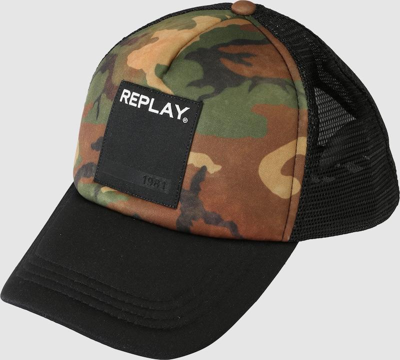 REPLAY Cap mit Logopatch