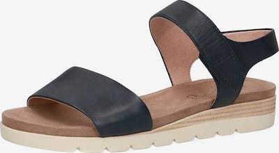 CAPRICE Klassische Sandalen in schwarz, Produktansicht