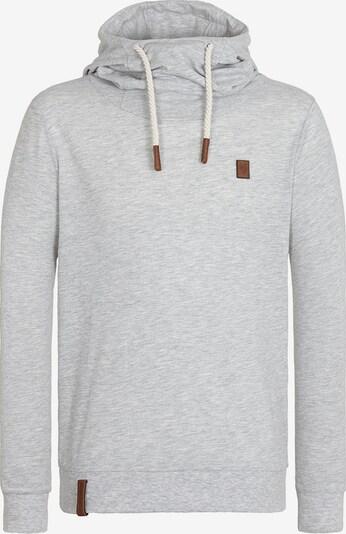 naketano Sweatshirt 'Diese Nüsse' in grau, Produktansicht