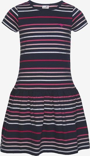 KangaROOS Jerseykleid in navy / pink / weiß, Produktansicht