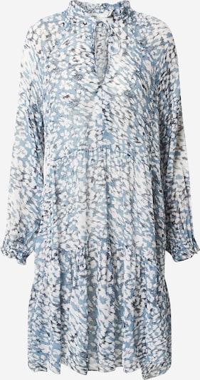 SECOND FEMALE Jurk 'Clouds' in de kleur Lichtblauw / Wit, Productweergave