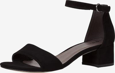 Sandale TAMARIS pe negru, Vizualizare produs